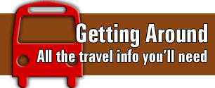 Getting Around.  All the travel info you'll need.