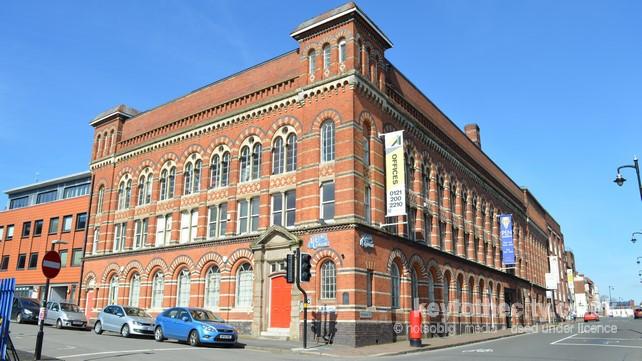 Most of Birmingham's pen nib industry employed women