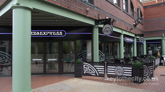 Pizza Express The Waters Edge Brindleyplace Birmingham