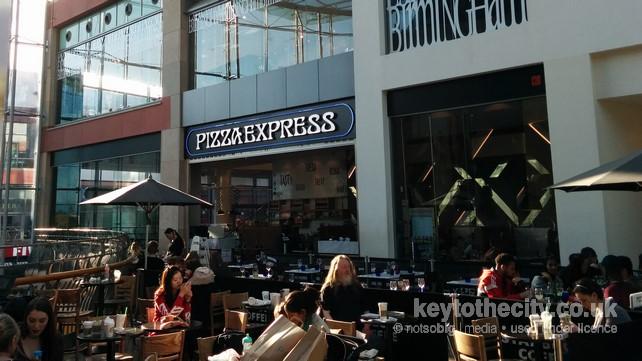 Pizza Express Upper East Mall Bullring Birmingham