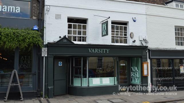 Varsity Restaurant 35 St Andrews Street Cambridge