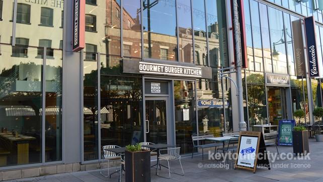 Gourmet Burger Kitchen, 15 Mill Lane, Cardiff • Cardiff Diner ...