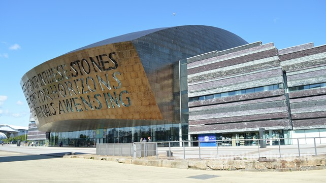Wales Millennium Centre, Bute Place, Cardiff Bay, Cardiff ...