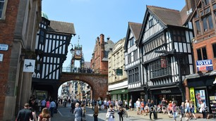 The Eastgate Clock, Chester