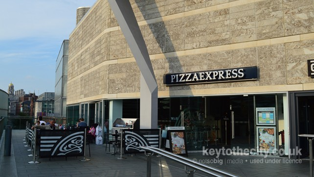Pizza Express Liverpool One South John Street Liverpool