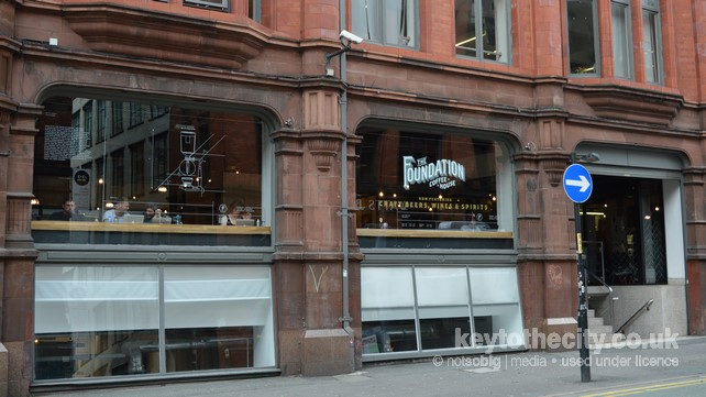 The Foundation Coffee House Sevendale House Lever Street
