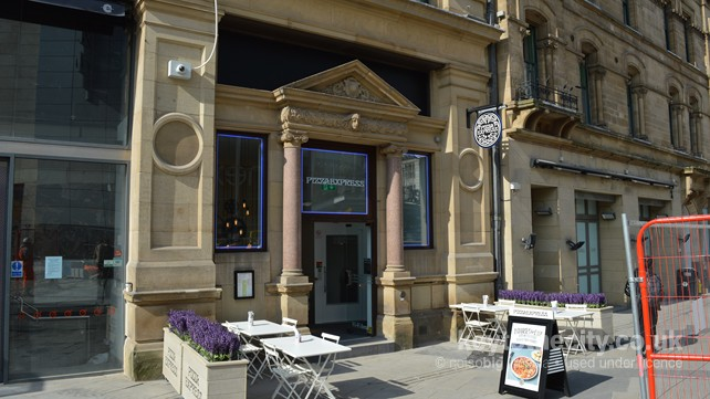 Pizza Express Corn Exchange Hanging Ditch Manchester