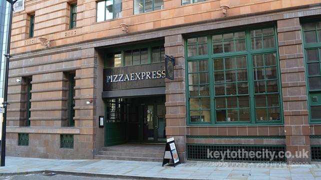 Pizza Express 56 Peter Street Manchester Manchester