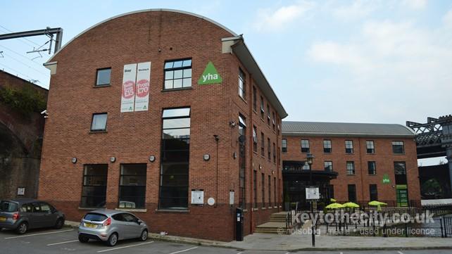 Yha Potato Wharf Castlefield Manchester Manchester