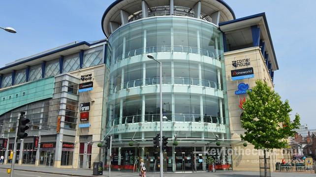 Cineworld, The Cornerhouse, Forman Street, Nottingham ...