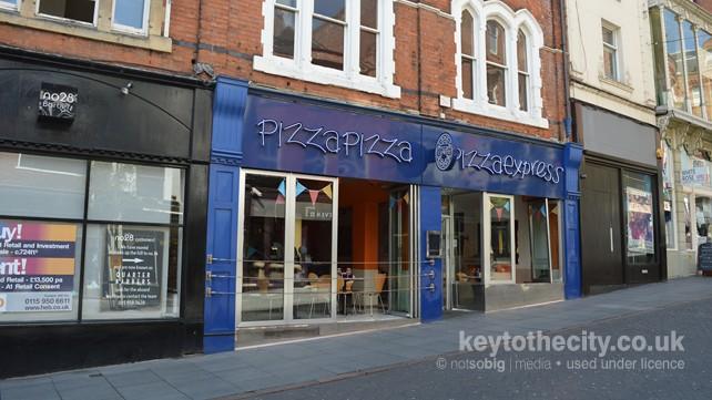Pizza Express 24 26 Goose Gate Nottingham Nottingham