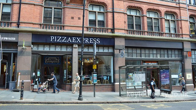 Pizza express in nottingham