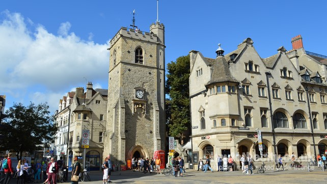 Carfax Tower Queen Street Oxford Oxford Historic Properties